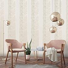 Graham & Brown Milan Stripe Taupe and Gold Wallpaper