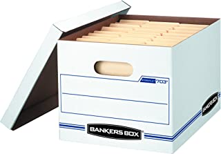 Bankers Box STOR/File Storage Boxes, Standard Set-Up, Lift-Off Lid, Letter/Legal, Value Pack of 30 (0071304)