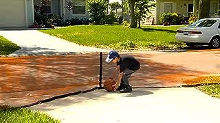 Play It Safe RPDN26 Driveway Net, Large, Orange