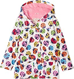 Hatley Kids - Rainbow Ladybirds Classic Raincoat (Toddler/Little Kids/Big Kids)