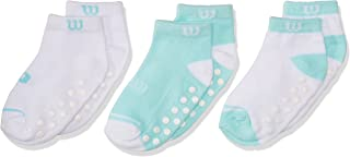 Wilson 8220 Calcetines para Bebé-Niñas, Multicolor, Talla Única (Paquete de  3 Piezas)