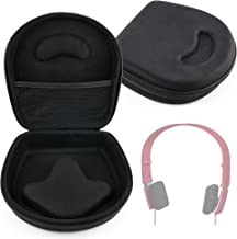 DURAGADGET Classic Black Rigid Shell Protective Headphone Storage Case Suitable - Suitable for Bang & Olufsen (B&O) Play Form 2 & Form 2i Stereo Headphones| BeoPlay H8