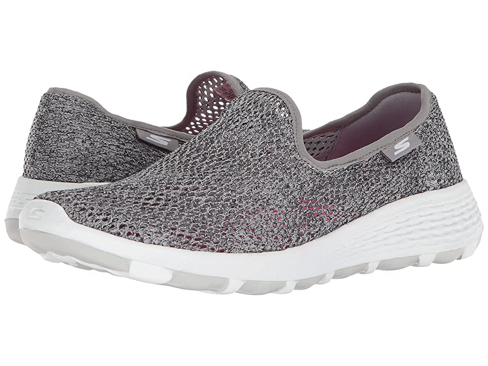 7b32491a105a7 SKECHERS Performance Go Walk Cool Shoes, Gray Women's Slip on Shoes by SKECHERS  Performance