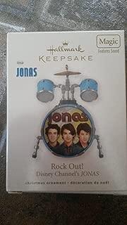Hallmark Ornament Rock Out Disney Jonas Brothers 2010