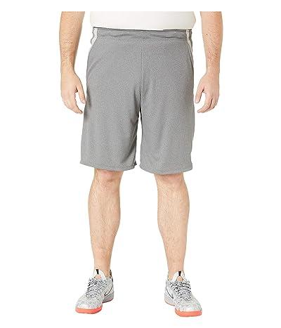 Nike Big Tall Dry Shorts 4.0 (Gunsmoke/Heather/Black) Men