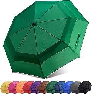 Fidus Automatic Windproof Vented Sun&Rain Travel Umbrella Double Canopy - Collapsible Compact Lightweight Umbrella