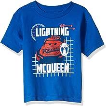 Disney Boys' Little Lightning McQueen Cars 3 Graphic T-Shirt