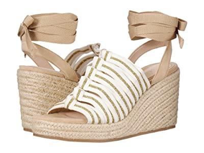 Cecelia New York Serena (White/Gold/Tan) Women