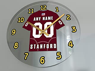 FanPlastic PAC-12 PACIFIC-12 Conference College Football - Personalized Wall Clocks - Size 12