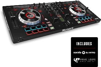 Numark Mixtrack Platinum | DJ Controller With LCD Displays, 4 Decks, Metal Touch-Capacitive 5