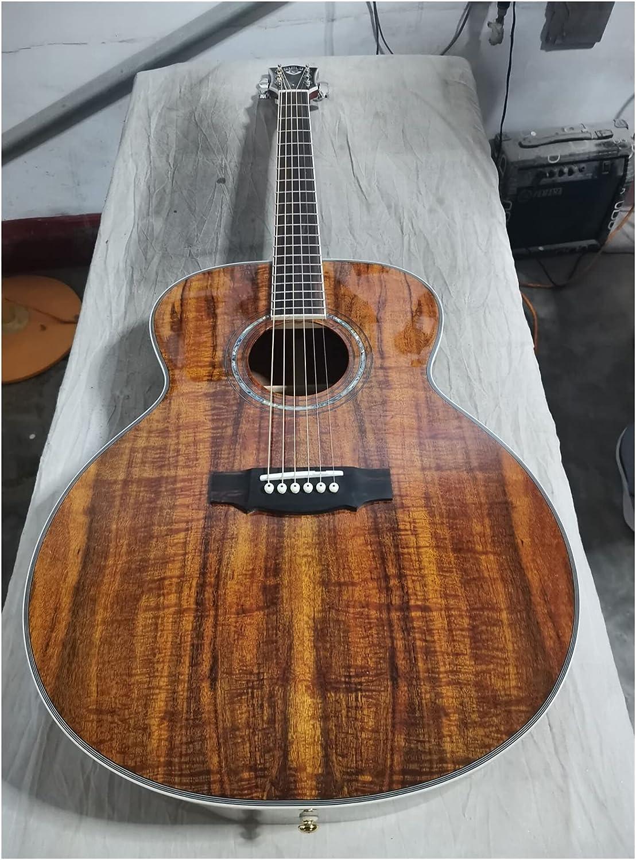YYYSHOPP Guitarra Profesional Guitarra acústica F50 Guitarra Wood Guild Guitarras eléctricas acústicas adecuadas para Jugadores en Todas Las etapas (Color : Guitar, Size : 43 Inches)
