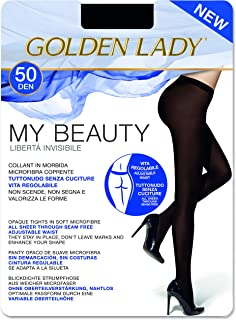 Goldenlady Damen My Beauty 50 Strumpfhose, 50 DEN, Schwarz Nero 099a, X-Large Herstellergröße: 5 – XL