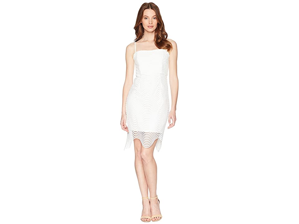 Bardot Spiral Lace Dress (Ivory) Women