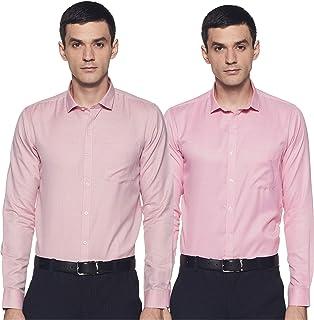 Ex by Excalibur Men's Formal Shirt (Pack of 2)
