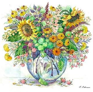 Best watercolor paintings of flowers in vases Reviews
