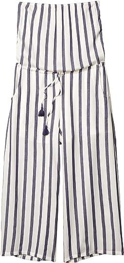 Esme Strapless Striped Jumpsuit