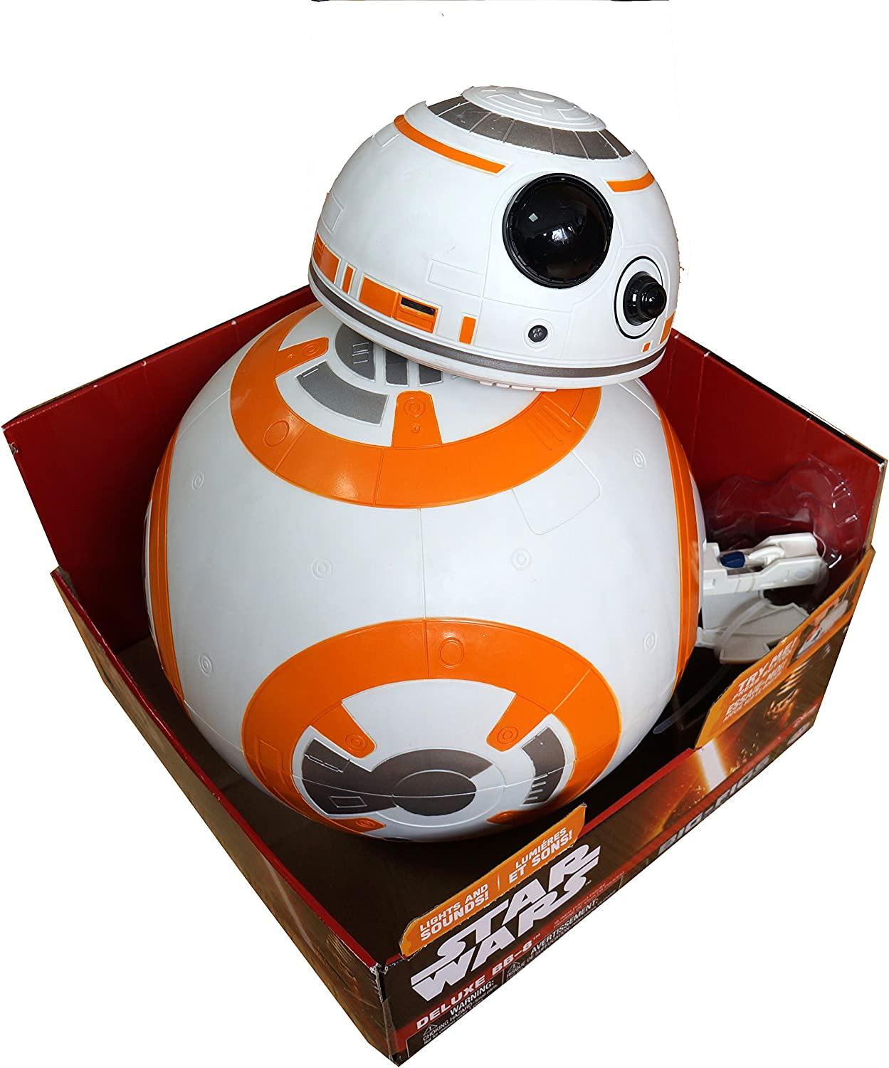 Star Wars The Force Awakens 18  Electronic Talking BB8 BigFigs Action Figure Brand New & Factory Sealed