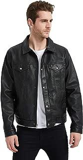 Best mens leather trucker jacket Reviews