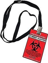 Zombie Hunter United States Novelty ID Badge Prop Costume