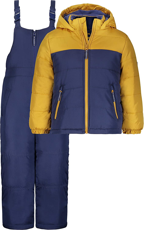 OshKosh B'Gosh boys Ski Jacket and Snowbib Snowsuit Set