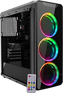 PC Gamer EasyPC AMD Quad Core Ryzen 3 2200G 3.7ghz 8GB (Radeon Vega 8 Graphics) 500GB HDMI