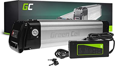 GC® Fietsaccu 36V 8.8Ah Li-Ion E-Bike Silverfish Green Cell Accu voor Elektrische Fiets Batterij met Lader