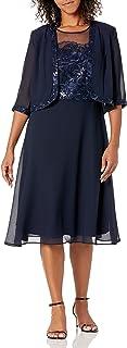 فستان نسائي مطرز من Le Bos فستان والدة العروس