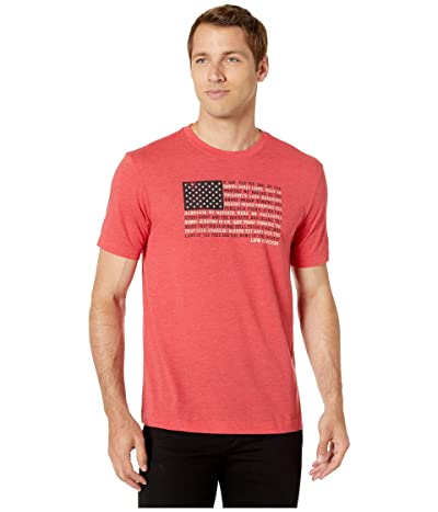Life is Good Star Spangled Banner Cool Teetm (Americana Red) Men