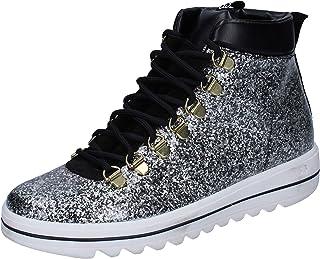 TREPUNTOTRE Sneakers Femme Caoutchouc Argenté