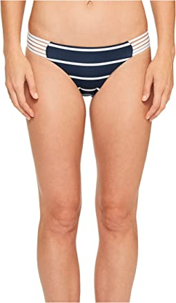 Seafolly - Castaway Stripe Multi Rouleau Brazilian Bottom