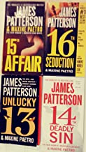 Final 5 books in Patterson's WOMEN'S MURDER CLUB books 13 - 17 -- Unlucky 13 /14th Deadly Sin / 15th Affair / 16th Seduction / 17th Suspect