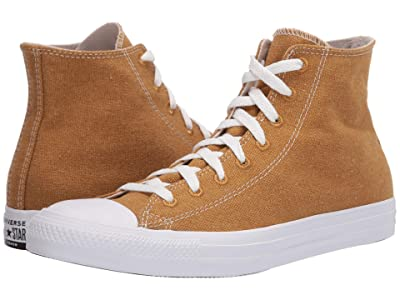 Converse Chuck Taylor All Star Hi Renew Cotton (Wheat/Natural/White) Classic Shoes