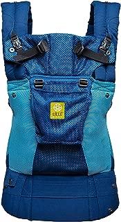 LÍLLÉbaby The Complete Airflow SIX-Position 360° Ergonomic Baby & Child Carrier, Blue/Aqua - Cotton