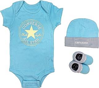 Converse, Conjunto de 3 piezas para bebé con diseño All Star