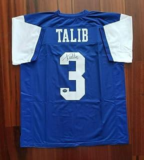 Autographed Aqib Talib Jersey - State PROVA - JSA Certified - Autographed College Jerseys