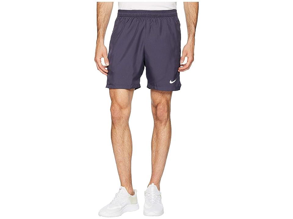 Nike Court Dry 7 Tennis Short (Gridiron/Gridiron/White) Men
