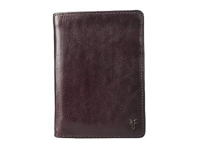 Frye Austin Passport Wallet (Merlot) Handbags
