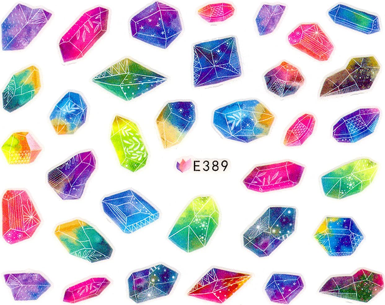 ギャップメーカーキーネイルシール 宝石 ダイヤ 香水 パフューム コロン 選べる5種類 (03-T60)