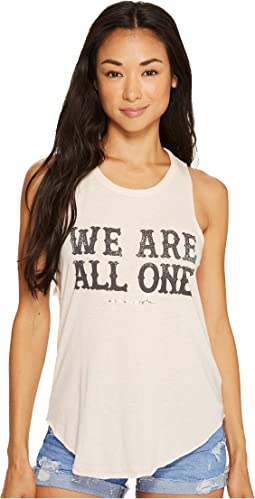 Spiritual Gangster - We Are All One Studio Tank Top