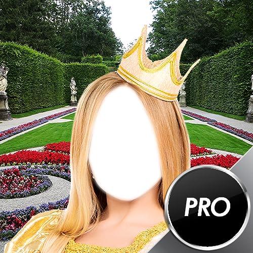 Prinzessin Mädchen-Foto-Montage