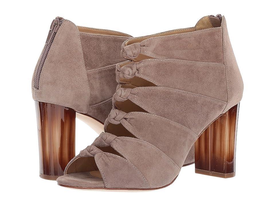 Vaneli Betsy (Truffle Suede) High Heels
