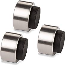 3 x STOPPLA® deurstopper Arkon - ø 32 mm / diepte: 20 mm - design deurbuffer echt roestvrij staal
