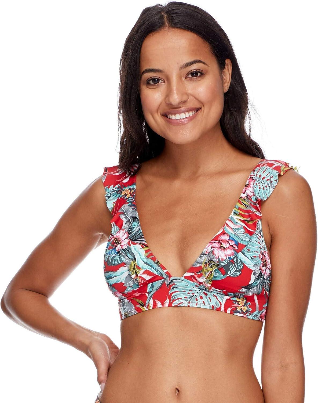 Esky Womens Isabella Wide Band Triangle Bikini Top Swimsuit
