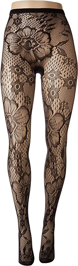 Blooming Net Tights