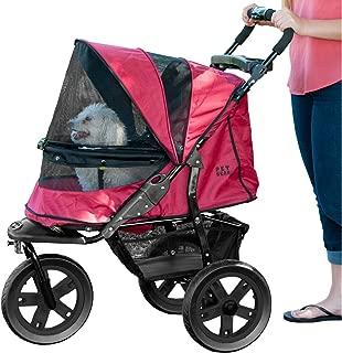 Pet Gear No-Zip AT3 Pet Stroller, Zipperless Entry