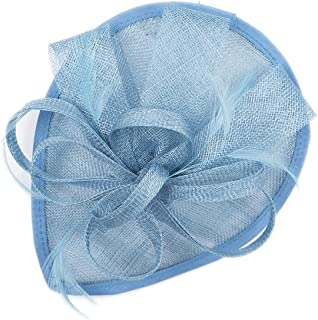 powder blue occasion hat