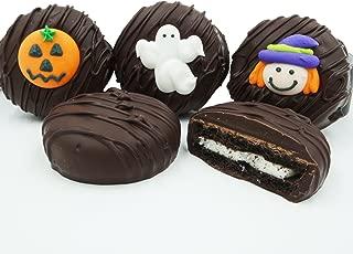 Philadelphia Candies Dark Chocolate Covered OREO Cookies, Halloween Assortment 8 Ounce
