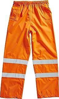 Blackrock 80203 Orange High Visibility Over Trousers, EN20471, Class 1, Medium