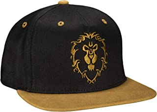 JINX World of Warcraft Legendary Alliance Snapback Baseball Hat, Black, One Size