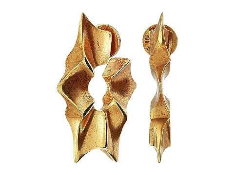 Oscar de la Renta Sun Star Earrings